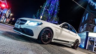 *Chill Vibes* IN Mercedes (AMG C63 S) Night Time