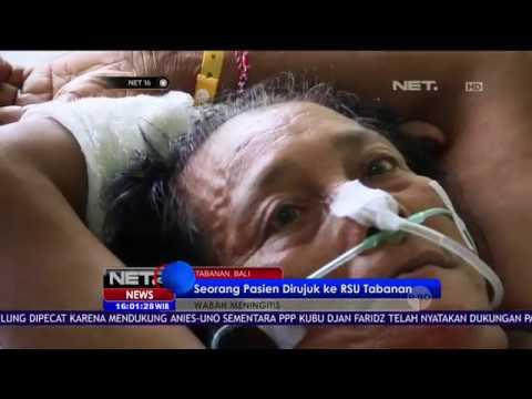 Akui Tak Konsumsi Daging Mentah, Pria di Bali Diduga Terjangkit Suspect Meningitis - NET16