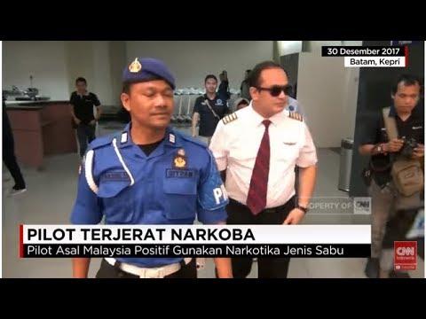 GEMPAK!! Pilot Malindo Air Rakyat Malaysia ditahan Kerana Dadah