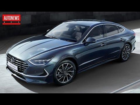Новая Hyundai Sonata: рассекречена до премьеры