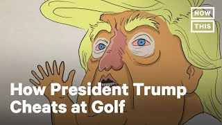 Sportswriter Rick Reilly Describes How Trump Cheated at Golf | NowThis