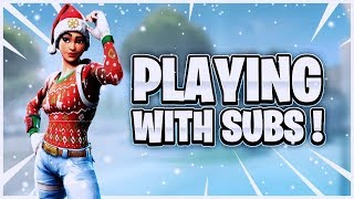 FORTNITE LIVE STREAM PLAYING WITH SUBS ON PS4/PC/XBOX/ GIFTING SKINS TO SUBS