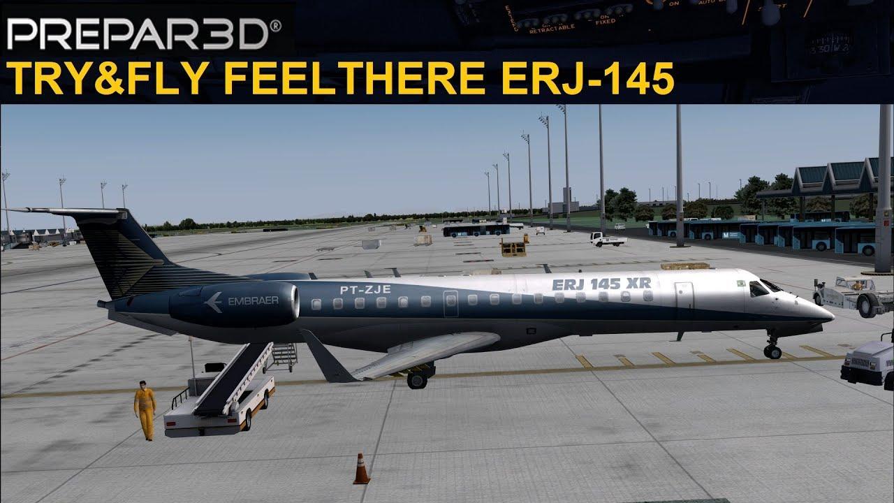 [P3DV4] TRY&FLY FEELTHERE ERJ-145 (ENGLISH)