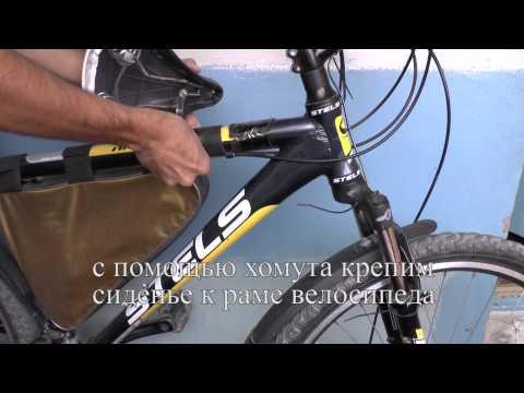 Как сделать детское сиденье на велосипед своими руками / child seat on a bicycle with his own hands