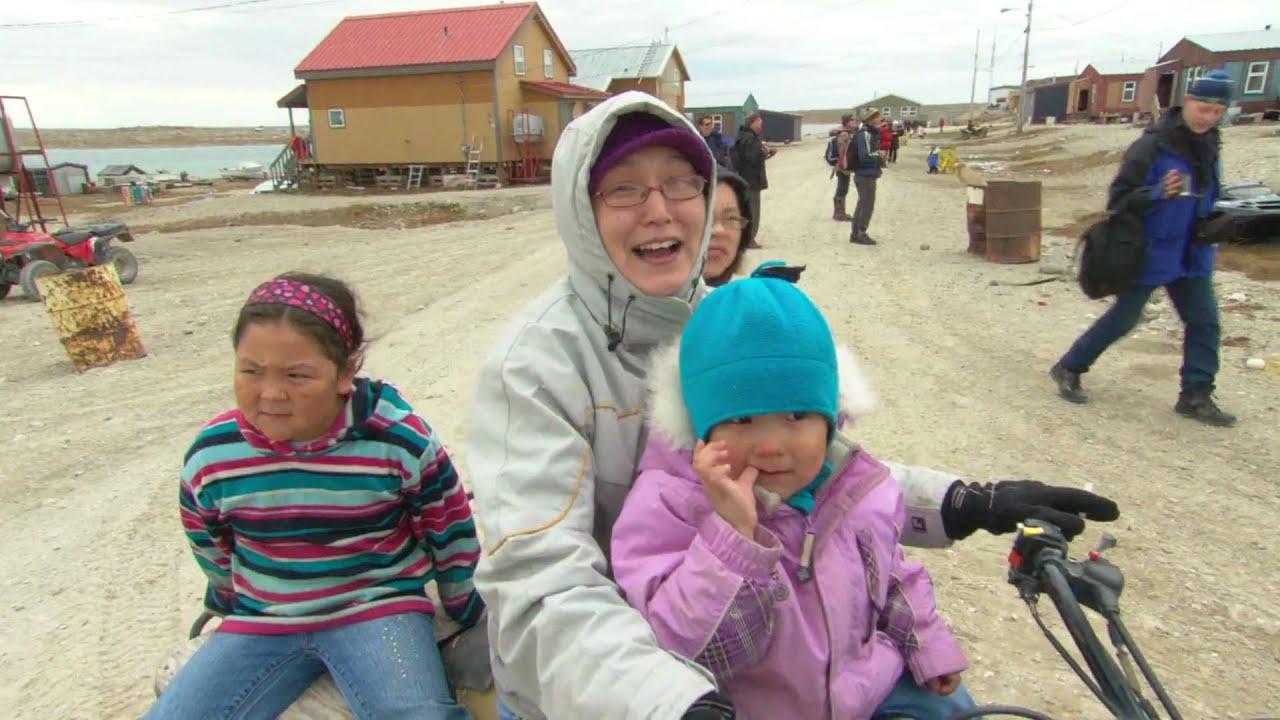 inuit culture in gjoa haven nunavut canada youtube