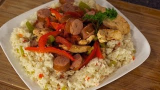 Chicken, Sausage & Pepper Rice