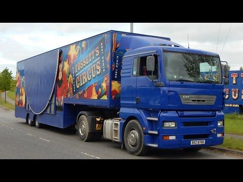 Fossett's Circus Pull Down 2015