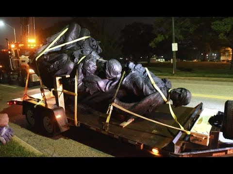 Baltimore Confederate Statues removed like a thief in the night