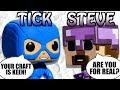 Minecraft Steve Funko meets The Tick - Pop Topics #4, Animation, Cartoon, Puppet Steve