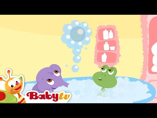 Bath Tubbies- Plezier maken met luchtbellen- BabyTV Nederlands
