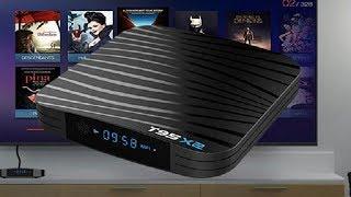 t95X2 TV BOX ОБЗОР ОТЛИЧНОЙ ТВ ПРИСТАВКИ НА НОВОМ ПРОЦЕССОРЕ S905X2 4GB DDR4  32GB ROM 4K UHD