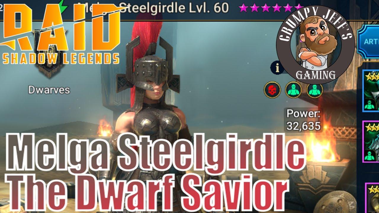 Download Raid Shadow Legends Melga Steelgirdle Champion Reveiw
