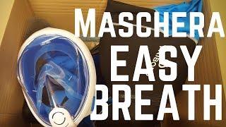 Recensione Decathlon Easybreath - Maschera snorkeling