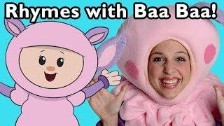 Baa Baa Baa Sheep and More   Learn Nursery Rhymes   Baby Songs from Mother Goose Club!