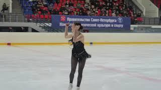 Анастасия Гулякова на Мемориале Панина Коломенкина показательное выступление