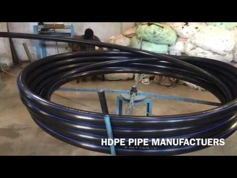 HDPE PIPE MANUFACTURING