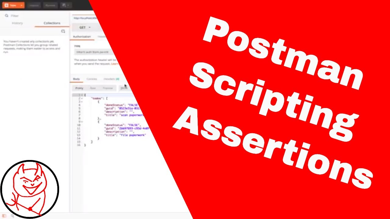 Postman Snippets to Assert API response status codes