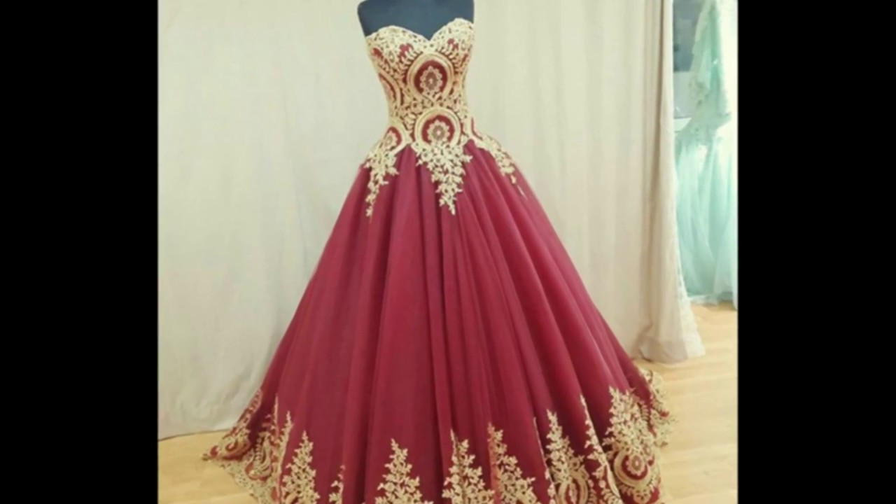 Latest Party Wear Gown Long Gown One Piece Design Youtube
