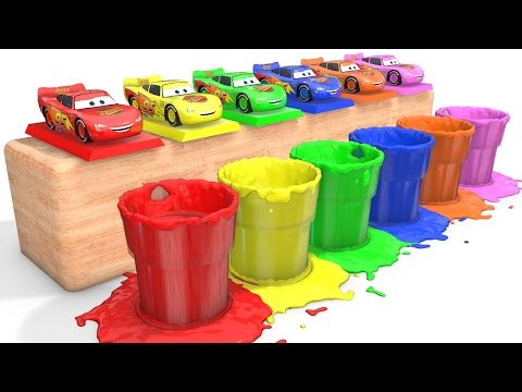 Thumbnail: MCQUEEN Colors for Babies - Learn Cars & Learning Educational Video - Bus Superheroes for Kids