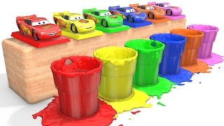 MCQUEEN Colors for Babies - Learn Cars & Learning Educational Video - Bus Superheroes for Kids thumbnail