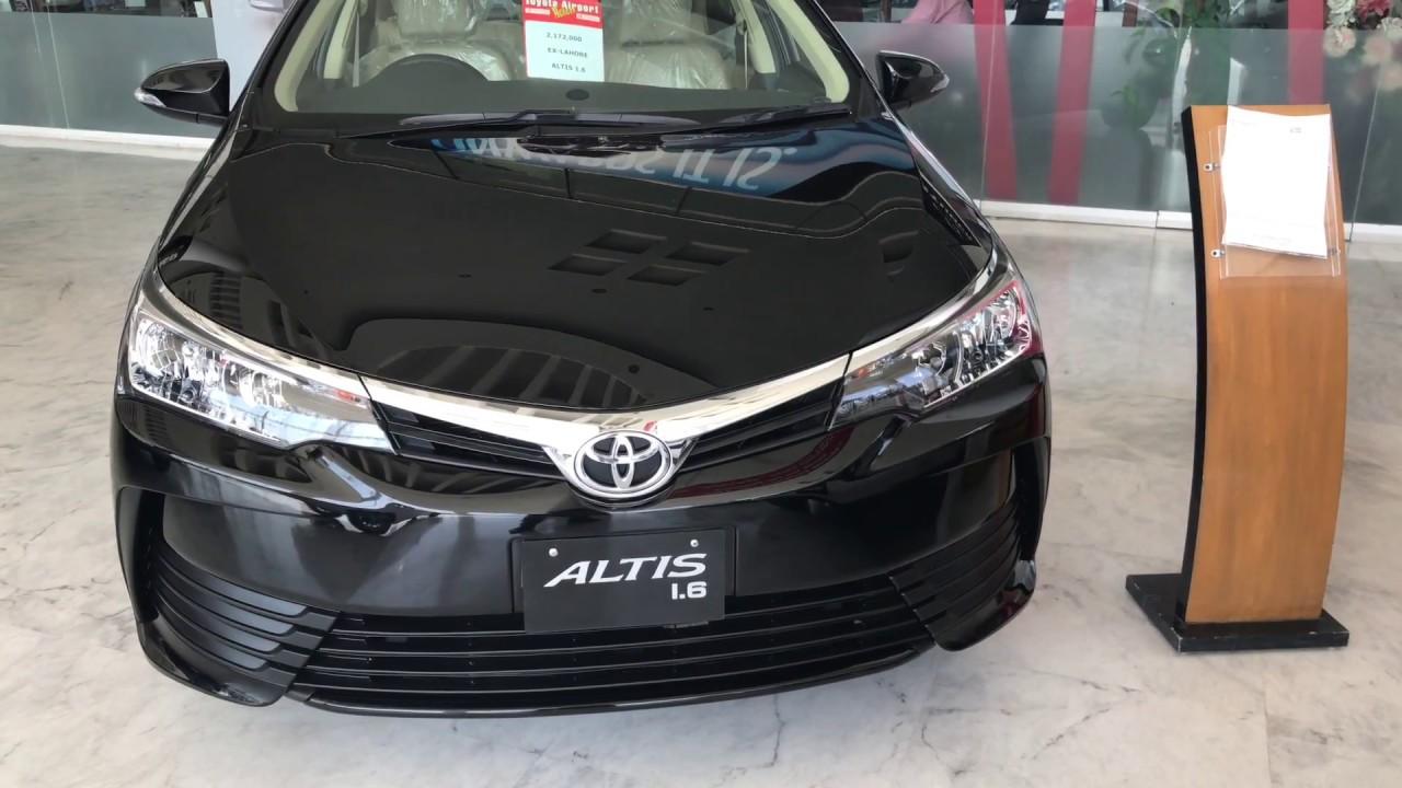 2017 |Toyota Corolla Altis 1.6 Facelift| Review| Lahore Pakistan - YouTube