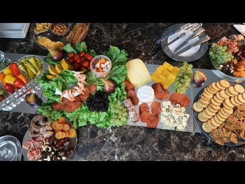 Food Tablescape || Home Entertaining || Party Appetizers Finger Food