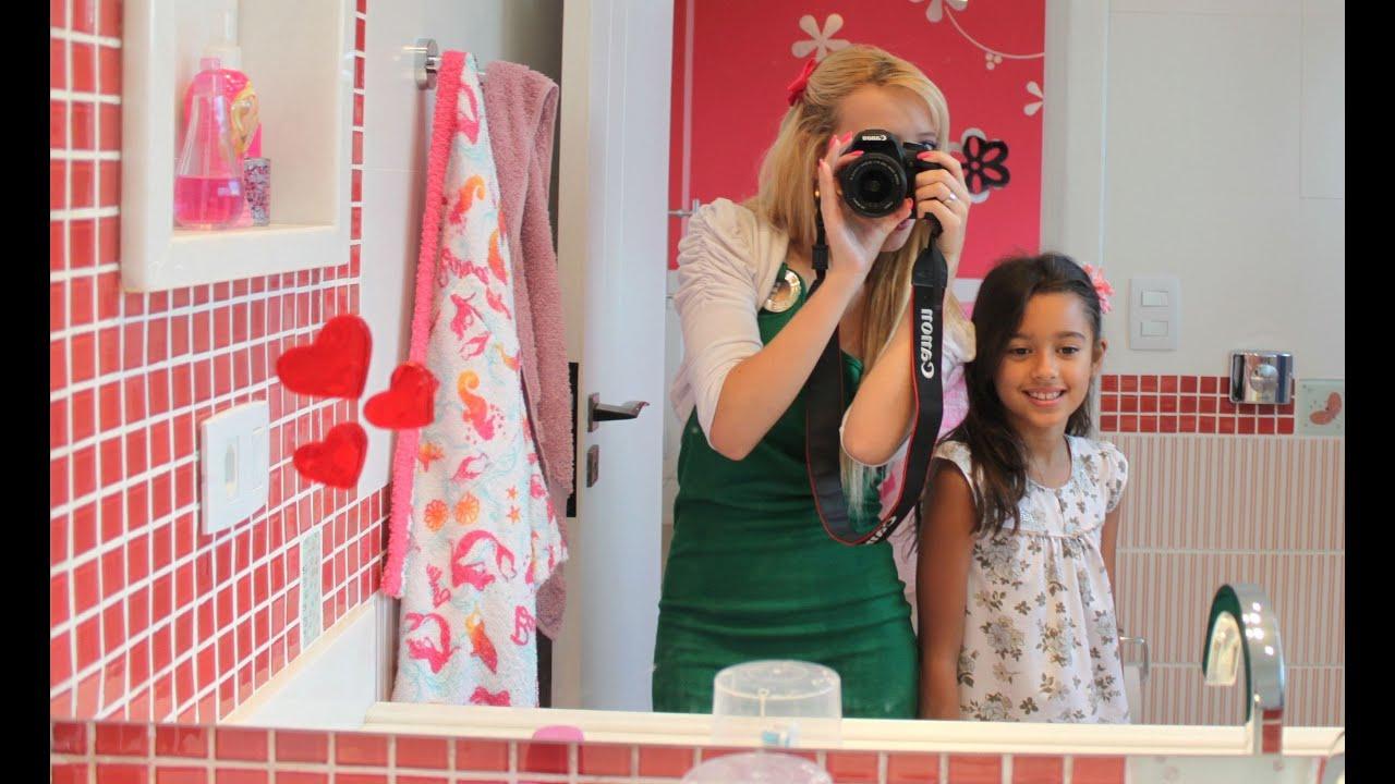 Tour Pelo Quarto Banheiro E Closet ~ Tour pelo quarto  Ellen  YouTube