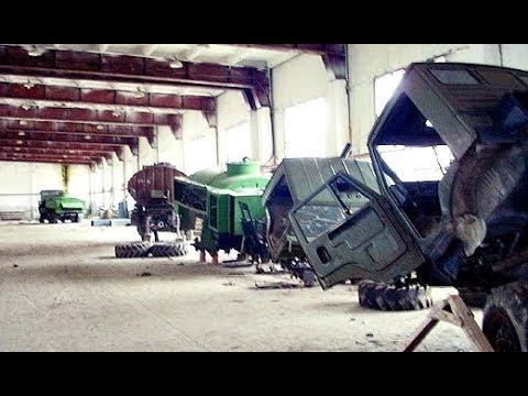 Полазили на ремонтном автозаводе в Новоссибирске