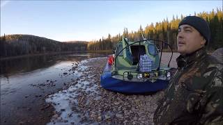 Таежная Сибирь, рыбалка (отдых), октябрь 2016