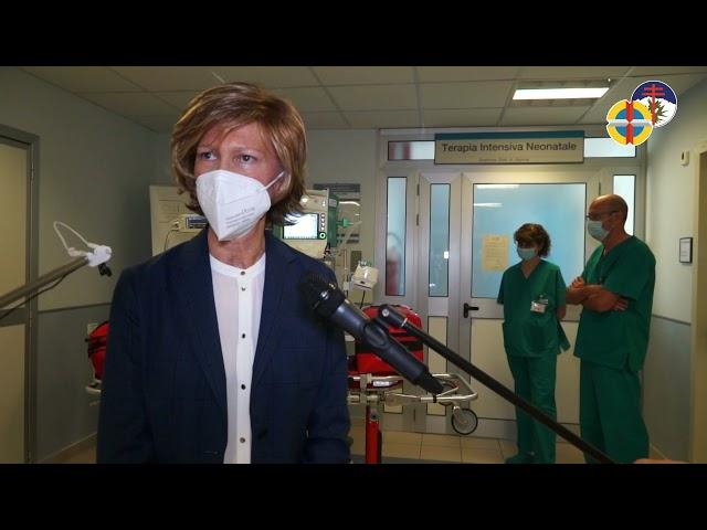 Donato un ventilatore portatile alla Terapia Intensiva Neonatale