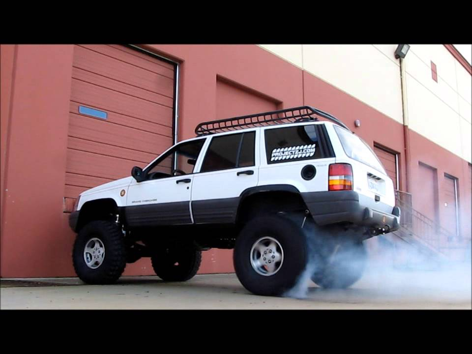 Jeep Grand Cherokee Roof Rack >> Jeep Grand Cherokee 4x4 Project ZJ Part 41 V8 2WD Burnout ...