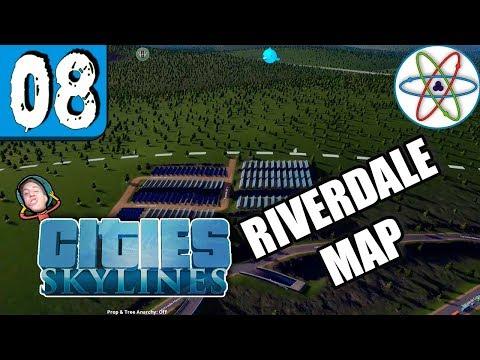 A fazenda solar! | Cities Skylines Ep 08 - Gameplay PT BR