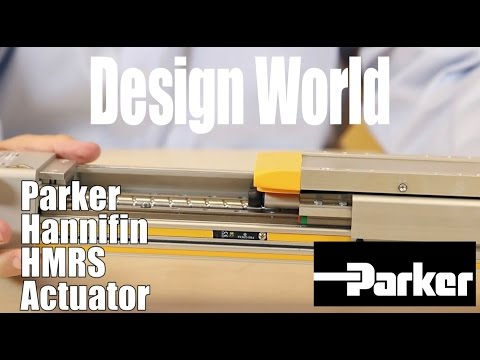 Parker's HMR actuators are heavy-duty options with high moment