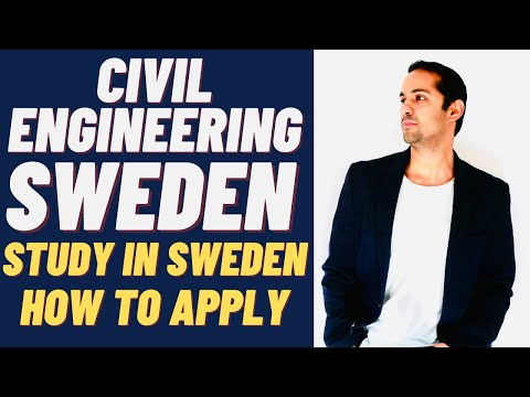 Civil Engineering and Environmental Engineering Jobs and Study in Sweden - By Tashify