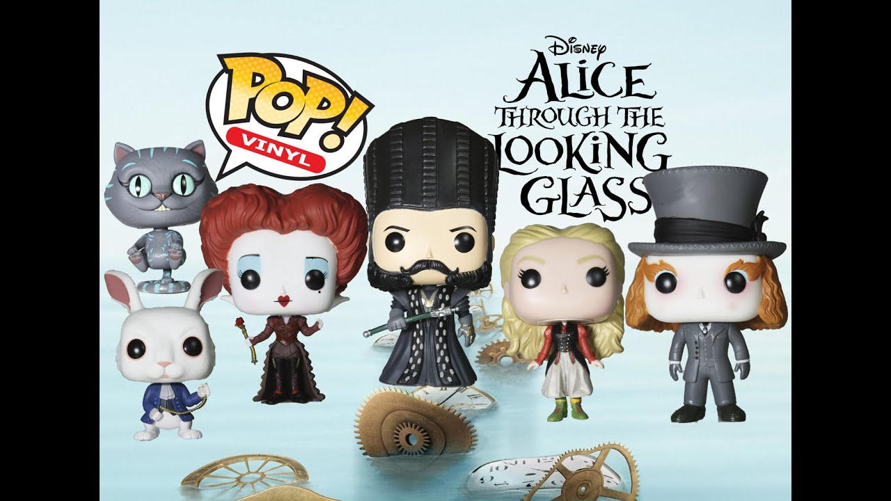 54297aaf0ac Alice Through The Looking Glass Funko Pops Collection Review. Tots Toy  Collector