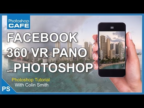 How to make a facebook 360 panorama from any photo - YouTube