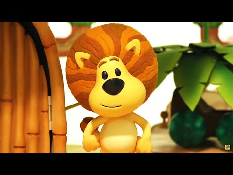 Raa Raa The Noisy Lion Official |  Hufty Loses His Voice | Full Episodes | Kids Cartoon