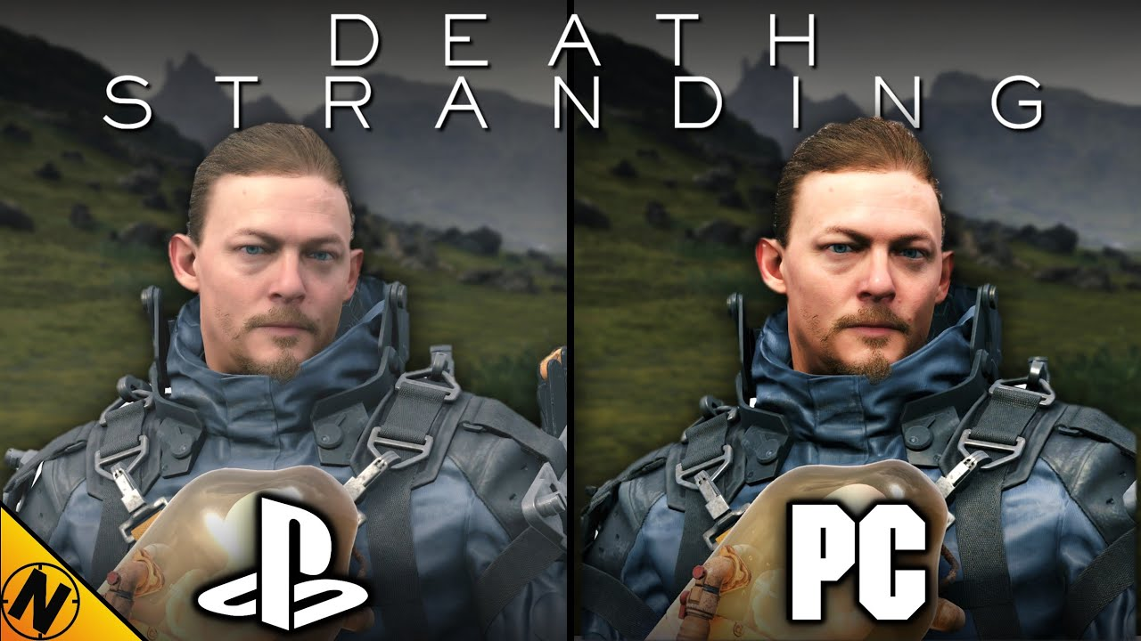Death Stranding PC vs PS4Pro | Direct Comparison thumbnail