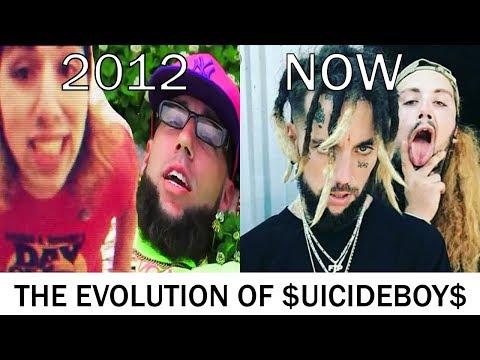 The Evolution of $uicideboy$ [2011 - 2018]