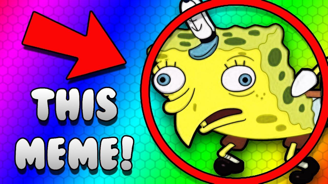 The absolute most trash meme of 2k17 mocking spongebob meme spongemock