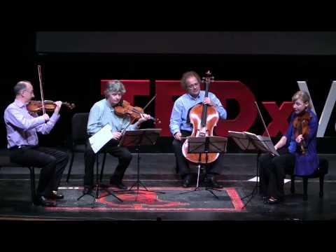 Allegro Vivace e Sempre Scherzando from Beethoven, Opus 59, no. 1 | Takács Takács Quartet | TEDxVail