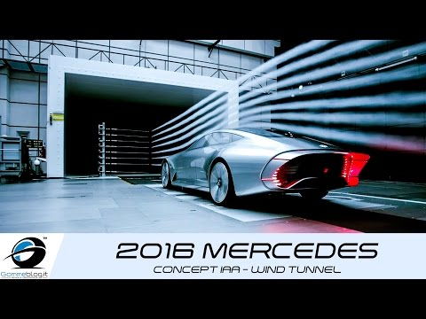 2016 Mercedes Benz Concept IAA | WIND TUNNEL