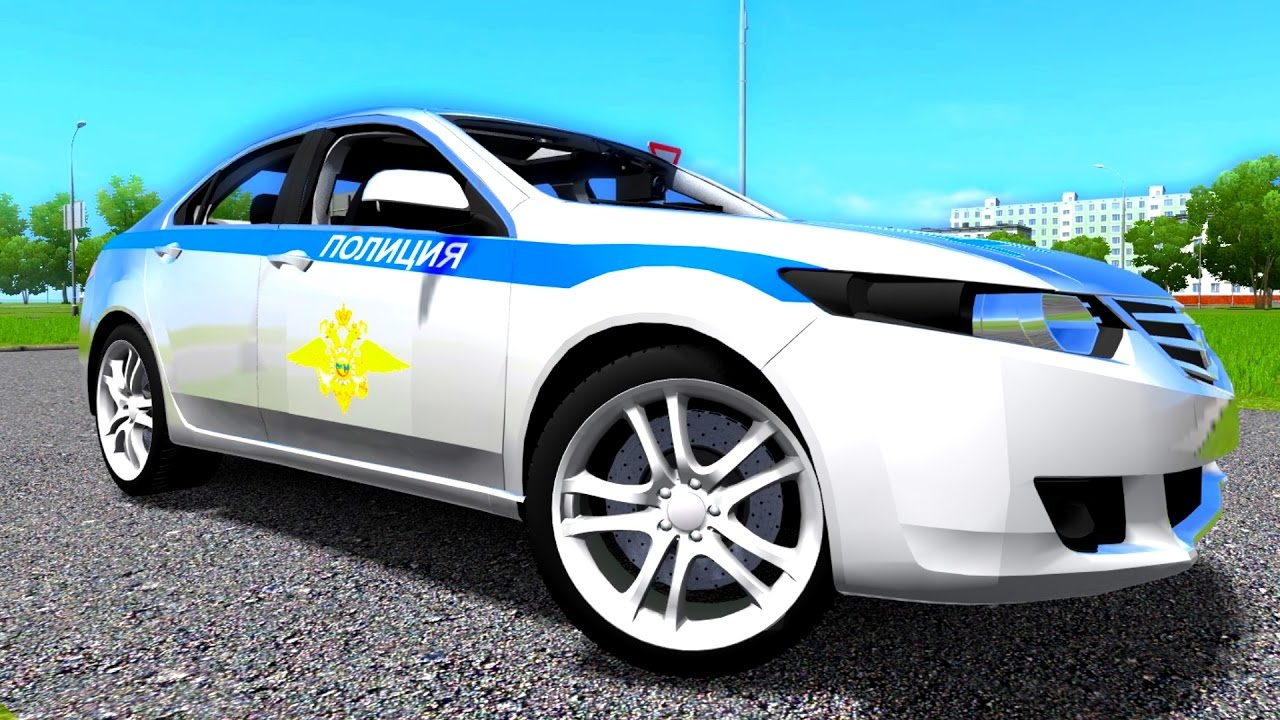 City Car Driving 1 5 3 Honda Accord Police Logitech G27 1080p 60fps You