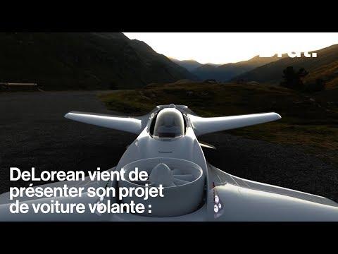 Une DeLorean volante ? Bienvenue dans le futur !