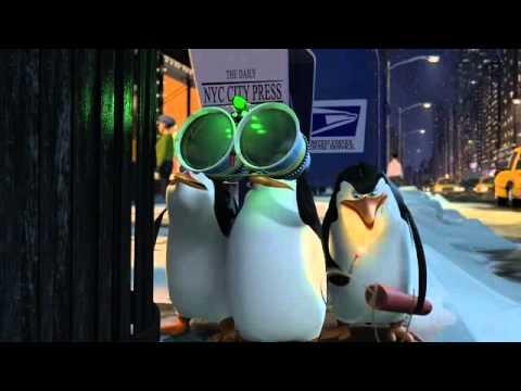 Пингвины из Мадагаскара в рождественских приключениях онлайн