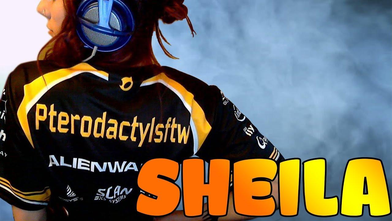 CS:GO - Best Female Pro Player: Sheila compilation #18