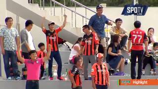2015 K리그 챌린지 31R 강원FC vs FC안양 하이라이트