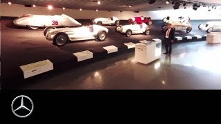 360° at the Mercedes Benz Museum   Legend #7 (Silver Arrows)   Part One