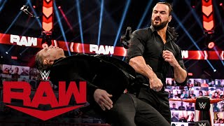 Drew McIntyre takes out frustrations on The Miz & John Morrison: Raw, Oct. 26, 2020