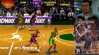 NBA HANGTIME (Arcade)    Domingos con Slobulus 30    Gameplay en Español